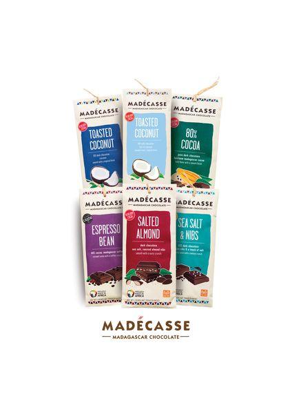 Les tablette de chocolat de Madécasse©