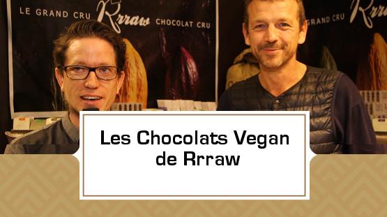 Les Chocolats Vegan de Rrraw