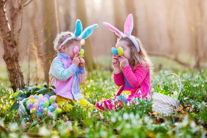 Enfants le matin de Pâques©