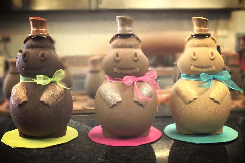 La collection de Pâques par la Chocolaterie Gonzalez©