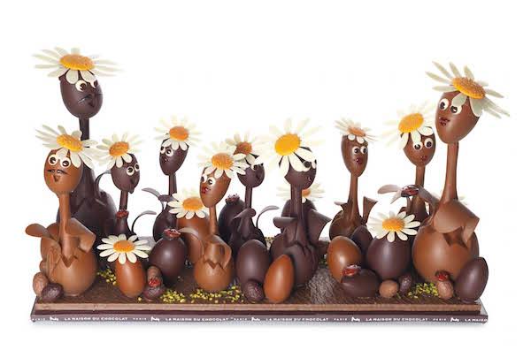 La collection de Pâques de la Maison du Chocolat@Caroline Faccioli