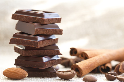 Chocolat, Canelle, Amande et grain de café©