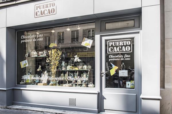 La boutique Puerto Cacao dans le 10ème Arrondissement de Paris©
