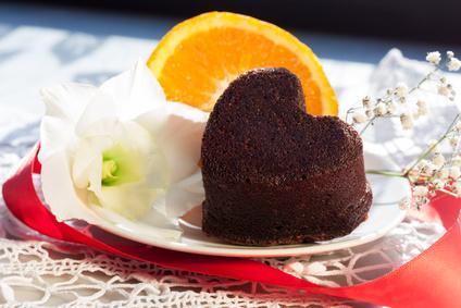 Coeur au chocolat noir©