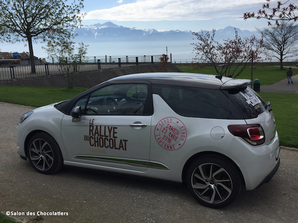 La voiture officielle du Rally de Chocolat de Lausanne 2016©