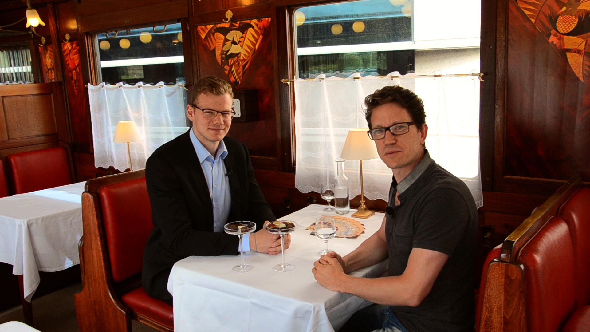 Sébastien Rivière, fondateur de ChocoClic, et Tony Valentini, directeur du Musée du Chocolat de Strasbourg©
