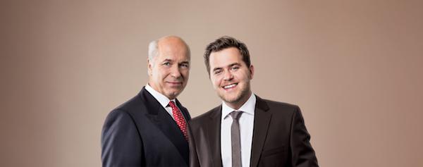 Juergen et Robert Rausch©
