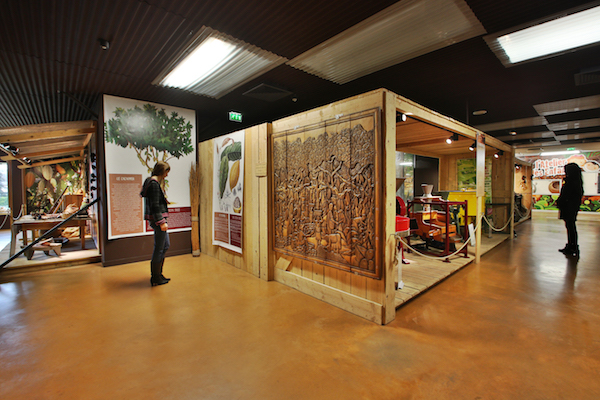 L'intérieur du musée Bovetti©