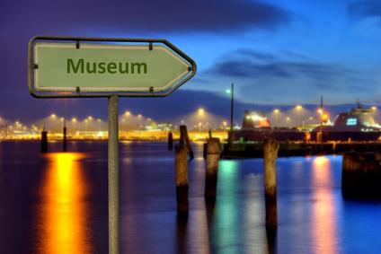 Panneau indicateur vers le musée©