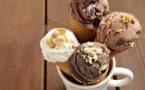 Glaces à la vanille et au chocolat©
