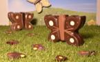 papillons en chocolat@ChocoStory Paris