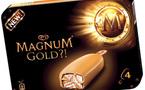 La glace Magnum se pare d'or