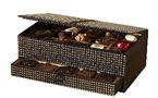Ecrins de chocolat signés Léonidas