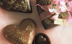 Au nom de l'Amour : Offrez un cœur en Chocolat Puyricard…