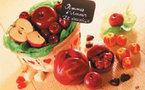 Succombez à la tentation en croquant la Pomme d'Amour en chocolat DE NEUVILLE