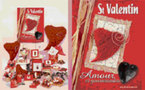 Une collection Saint Valentin en rouge passion et rose tendresse