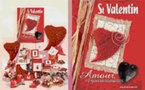 Une collection Saint Valentin en rouge passion et rose tendresse