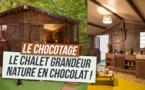 Réservez votre nuit d'hôtel avec Le Chalet en chocolat Grandeur Nature avec Booking