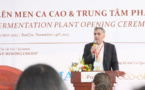 Puratos Grand-Place Vietnam confirme son engagement à l'industrie cacaoyère durable au Vietnam