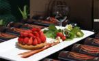 Tartelettes Sablées « Bretonnes », Chantilly aux  Pistaches et Fraises des Bois
