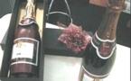 Champagne Comité de Lantage en chocolat