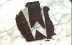Réalisation d'un ruban en chocolat