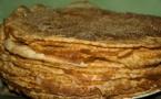La recette du gâteau de la Chandeleur