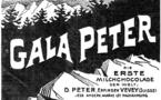 Affiche de publicité pour Gala Peter©