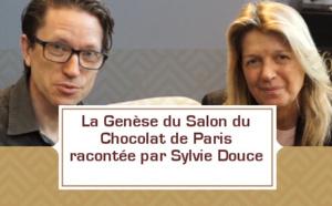 La genèse du Salon du Chocolat de Paris expliqué par Sylvie Douce