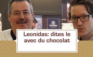 Léonidas: dites le avec du chocolat