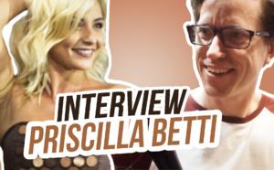 La fabuleuse robe de Priscilla Betti