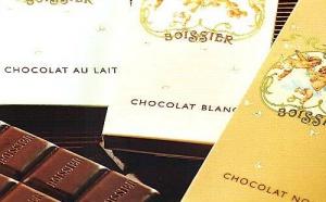 Les Tablettes de chocolat à l'ancienne du Chocolatier BOISSIER