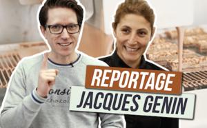 La visite du laboratoire chocolat de Jacques Genin