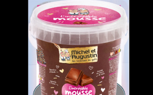 L'incroyable mousse au chocolat au lait de Michel et Augustin