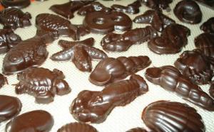 Le chocolat moulé