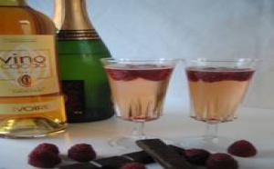 Recettes : VinoCacao® Cocktail « Framboisine »