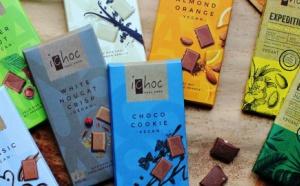 Ichoc,  chocolat végétalien pour les amateurs de chocolat au lait