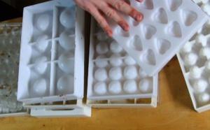 Les moules du chocolatier : en polycarbonate