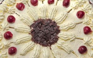 Fruits rouges en croûte au chocolat blanc©