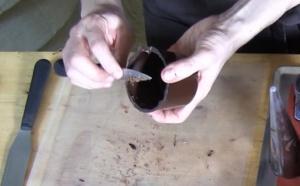 Affiner les chocolats après démoulage
