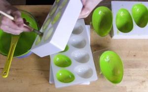 Comment créer des boules galaxies en chocolat
