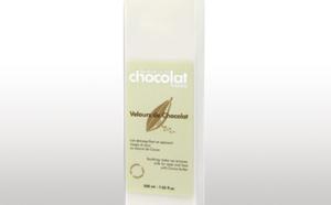 Sensation Chocolat Paris lance Velours de Chocolat, lait démaquillant au Cacao