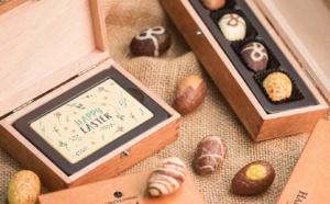 Pâques et chocolats personnalisés vont de pair chez Chocolissimo