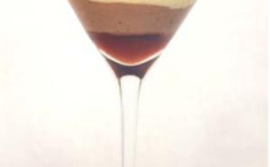 Marquise au chocolat et gelée de Pineau des Charentes