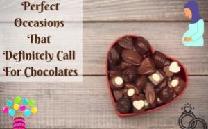 7 occasions parfaites qui demandent des chocolats