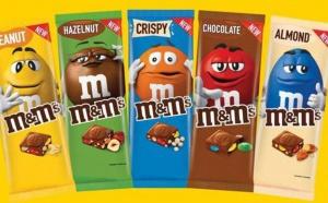 Les tablettes de chocolat M&M's débarque en France, allez vous succomber ?
