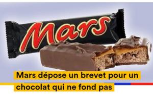 La compagnie Mars à la création du chocolat qui ne fond pas.