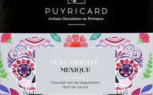 La collection « Pure Origine Mexique » de la Chocolaterie de Puyricard