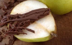La Recette Charlotte poire Belle Hélène au chocolat