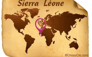 La provenance des fèves de cacao de Sierra Léone en Afrique